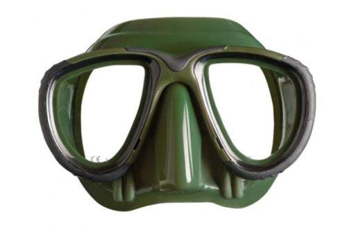 Mares Tana Silicone Scuba Diving and Snorkeling Mask (Green)