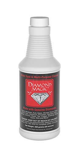 Diamond Magic - Water Spot & Multi-Purpose Cleaner (20 Ounces) Clean with...