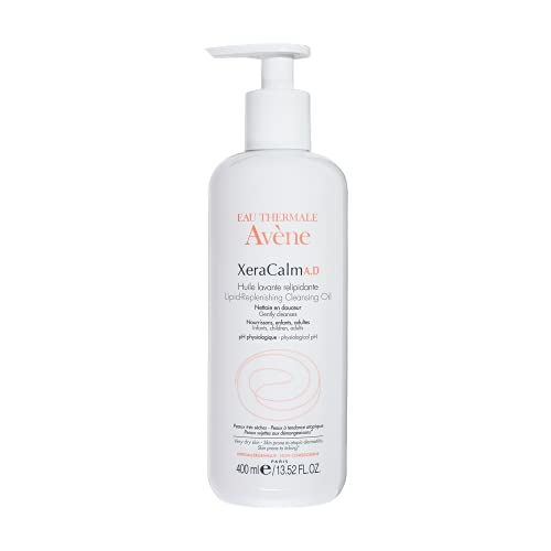 Eau Thermale Avene XeraCalm A.D Lipid-Replenishing Cleansing Oil, Atopic...