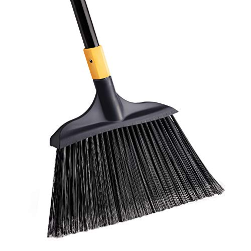Yocada Heavy-Duty Broom Outdoor Commercial Perfect for Courtyard Garage...