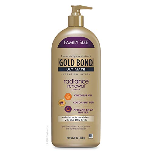 Gold Bond Radiance Renewal Hydrating Lotion for Visibly Dry Skin, Family...