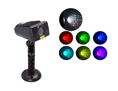 LedMAll PW-RGB230-RM 7 Color with White Laser Christmas and Decorative...