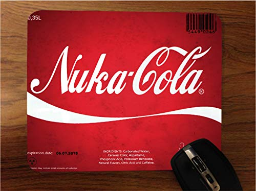 Popular Video Game Cola Artwork Desktop Office Silicone Mouse Pad by...