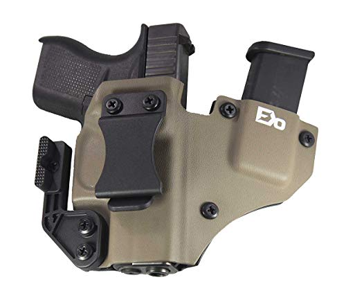 Fierce Defender IWB Kydex Holster Compatible with Glock 43'+1 Series W/Claw...