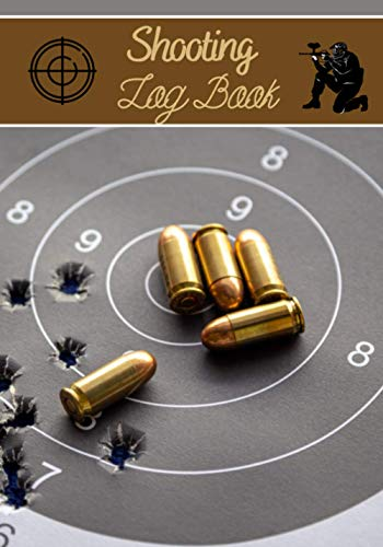 Shooting log book: Notebook of taffy, format 7x10po 150pages to be filled,...