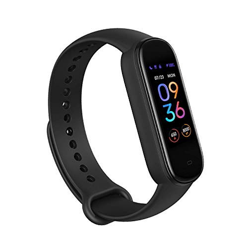 Amazfit Band 5 Fitness Tracker with Alexa Built-in, 15-Day Battery Life,...