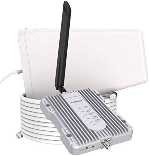 Amazboost A1 Cell Phone Booster for Home -Up to 2,500 sq ft,Cell Phone...