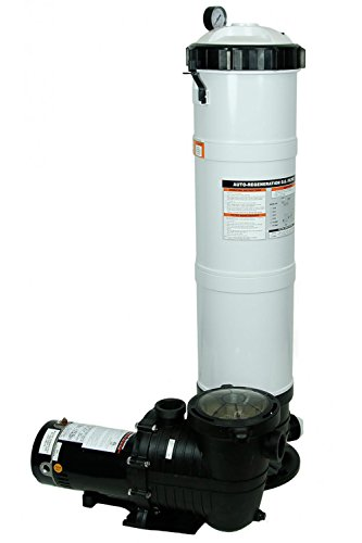 Rx Clear DE Element Inground Swimming Pool Filter System with Mighty...