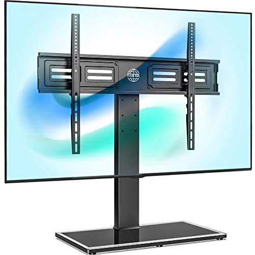 FITUEYES Universal TV Stand/Base Swivel Tabletop TV Stand with Mount for 50...