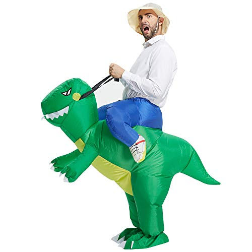 TOLOCO Inflatable Costume Adult, Inflatable Halloween Costumes for Men,...