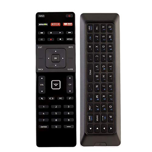 New XRT500 QWERTY Keyboard with Back Light Remote fit for VIZIO M43-C1...