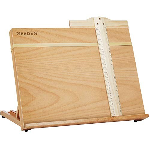 Artist Drawing & Sketching Board with A Drafting T-Square- MEEDEN Portable...