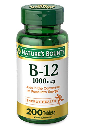 Vitamin B12 by Nature's Bounty, Vitamin Supplement, Supports Energy...