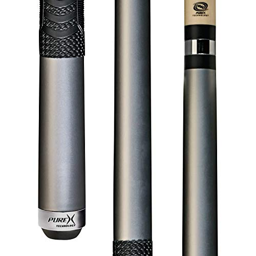PureX Technology Pool Cue with Low Deflection Shaft, Kamui Black Tip, Mz...