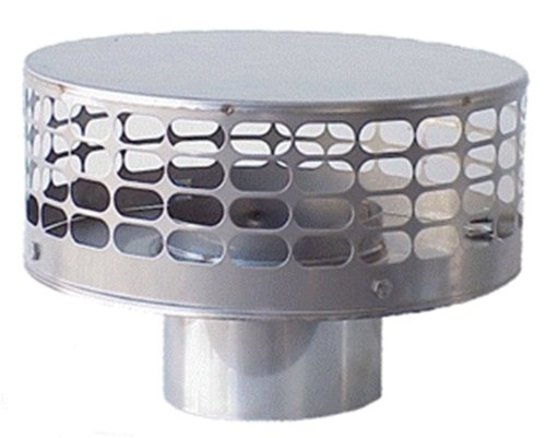 The Forever Cap CCFS8, Eight_inch, Stainless Steel