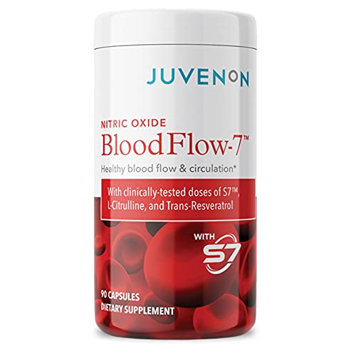 Nitric Oxide Blood Flow-7 - Nitric Oxide Supplement with L Arginine and L...