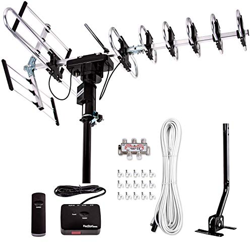[Newest 2020] Five Star Outdoor Digital Amplified HDTV Antenna - up to 200...