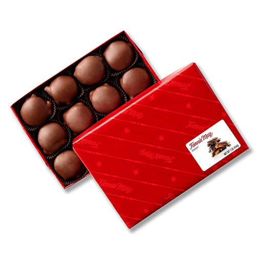 Fannie May Pixies, Milk Chocolate Covered Caramel with Pecans, Chocolate...