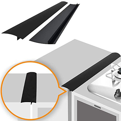 Linda's Silicone Stove Gap Covers (2 Pack), Heat Resistant Oven Gap Filler...