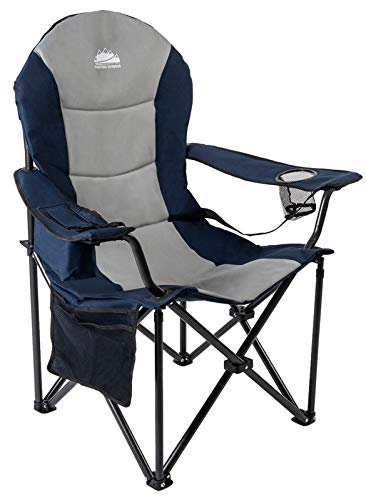 Coastrail Outdoor Camping Chair with Lumbar Back Support, Oversized Padded...