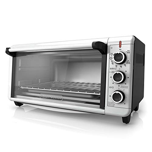 BLACK+DECKER TO3240XSBD 8-Slice Extra Wide Convection Countertop Toaster...