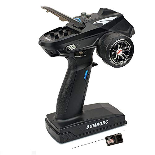 DUMBORC-X6 2.4Ghz 6 Channel RC Transmitter with Gyro Inside Receiver Low...
