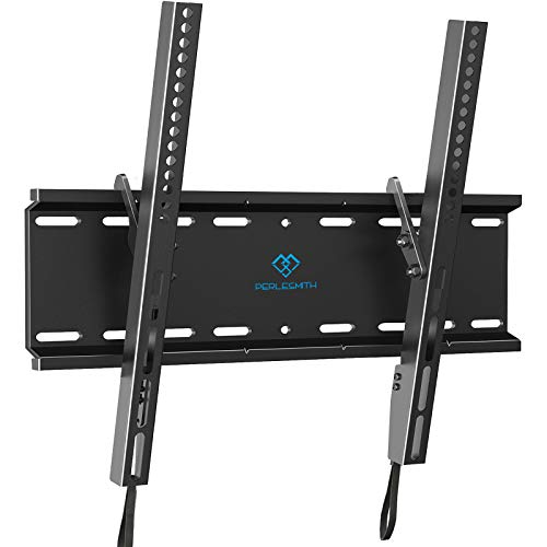 PERLESMITH Tilting TV Wall Mount Bracket Low Profile for Most 23-55 inch...