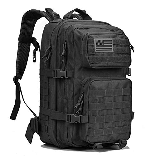 REEBOW GEAR Military Tactical Backpack Large Army 3 Day Assault Pack Molle...