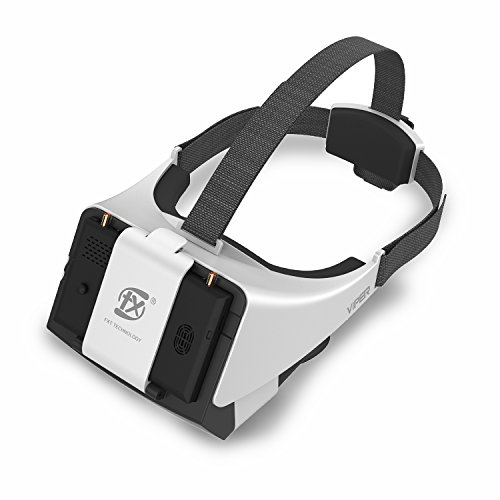 New V2.0 Version FXT Viper FPV Goggles 5.8GHz Video Glasses Support Wearing...