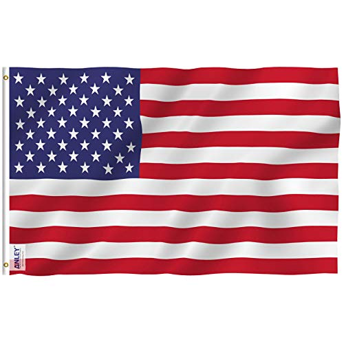 Anley Fly Breeze 3x5 Foot American US Flag - Vivid Color and UV Fade...