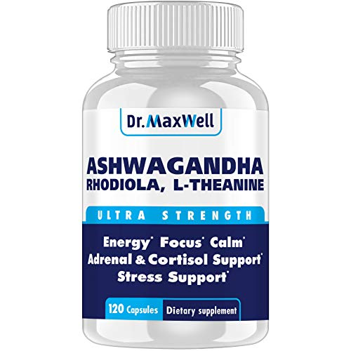 Cortisol Manager - Adrenal Support - Thyroid Support. Clinically Proven...