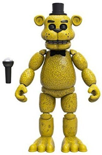 Funko Five Nights at Freddy's Articulated Golden Freddy Action Figure, 5'