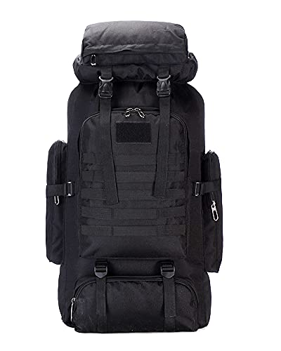 CLINFISH 75L Camping Hiking Backpack Lightweight Large Packable Bag...