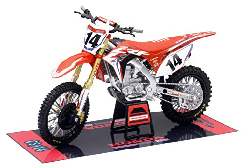 Orange Cycle Parts Die-Cast Replica Toy Red 1:12 Scale Model Cole Seely...