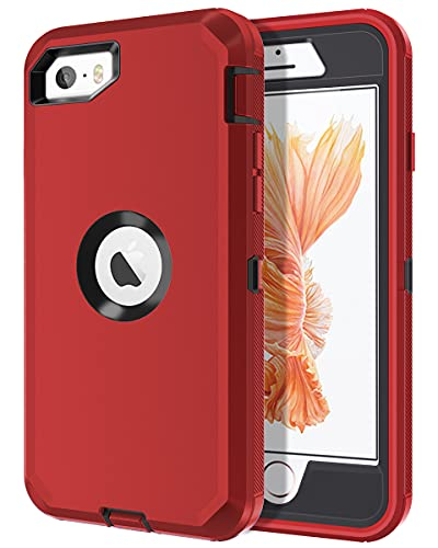 I-HONVA for iPhone SE 2016 Case, for iPhone 5S/5 Case Built-in Screen...