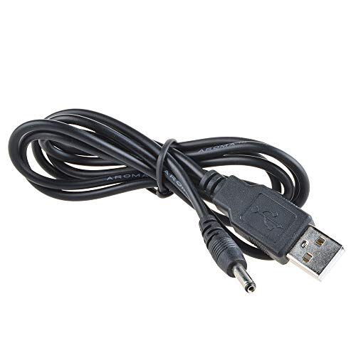 TOP+ USB Charging Cable PC Laptop Charger Power Cord Replacement for...