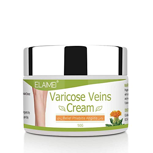 Varicose Veins Cream, Soothing Leg Cream with Natural Ingredients for...