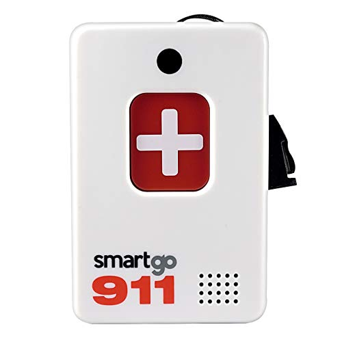 SmartGo 911 Help Now No Monthly Fees One-Touch Direct Connect Emergency...