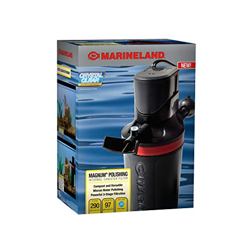 MarineLand Magnum Polishing Internal Canister Filter, For aquariums Up To...