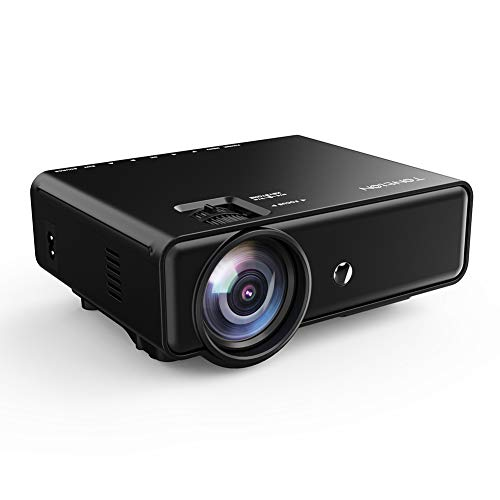 Tontion Upgrade 3400Lux Video Projector 50,000 Hours 176inch Movie...