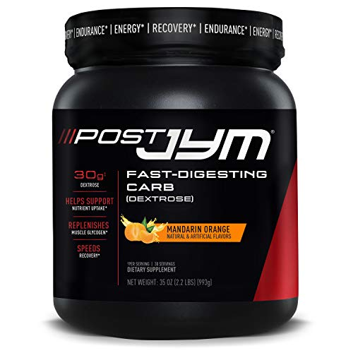 JYM Supplement Science Post Fast-Digesting Carb - Post-Workout Recovery...