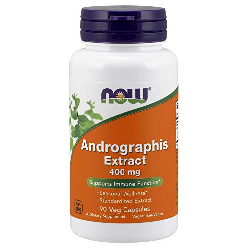 NOW Supplements, Andrographis Extract 400 mg (Standardized Extract), 90 Veg...