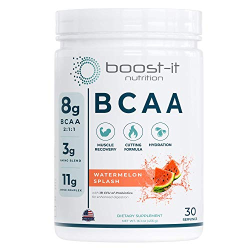 Boost-it Nutrition – 11g Sport BCAA | Muscle Recovery, Energy & Hydration...