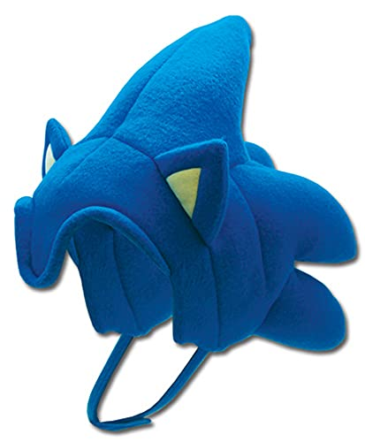 GE Animation GE-2380 Sonic The Hedgehog - Sonic Hair Cosplay Hat Blue, One...