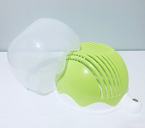 Quick Chop Salad Cutter Bowl - Fresh Salad Sliced in 60 seconds or less...