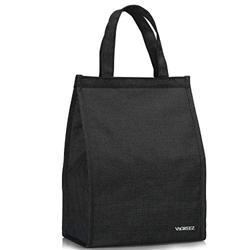Lunch Bag, VAGREEZ Insulated Lunch Bag Large Waterproof Adult Lunch Tote...