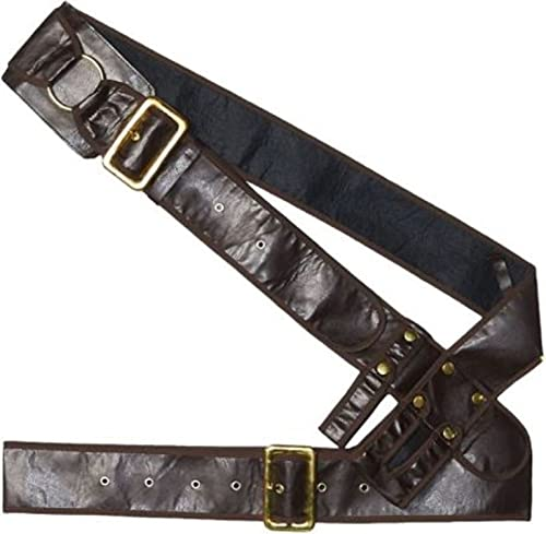 AMSCAN Pirate Bandolier Belt Halloween Costume Accessory for Adults, One...