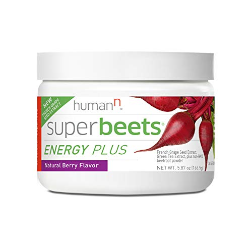 HumanN SuperBeets Energy Plus with Grape Seed Extract | Concentrated...