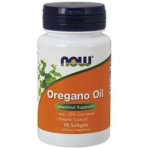 NOW Supplements Oregano Oil with Ginger and Fennel Oil Enteric Coated, 90...