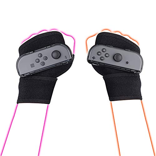 LeyuSmart Wristbands for Just Dance 2021 2020 Switch Dancing Games, Armband...